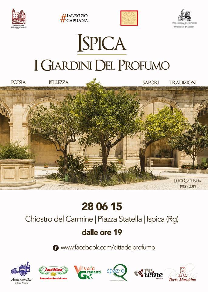 locandina I Giardini del Profumo