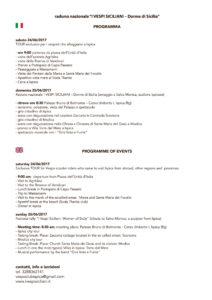 Programma I VESPI SICILIANI - Donne di Sicilia